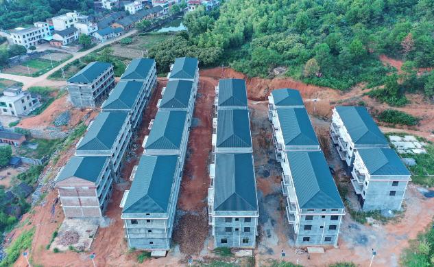 新农村建设树脂瓦